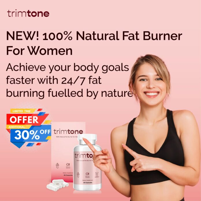 TrimTone - 100% Natural Fat Burner - www.thereviewdesk.com